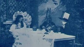 "Кадр из фильма ""Алиса в стране чудес"" (Alice in Wonderland). Режиссер - Сесил Хепуорт. 1903 год"