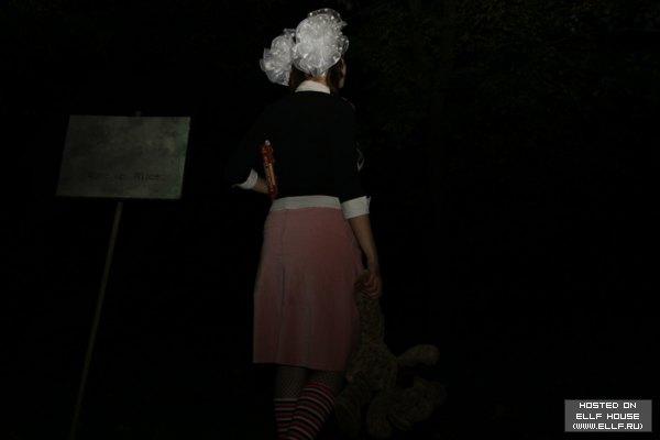 Алиса в стране чудес - Киберхоррор в картинках