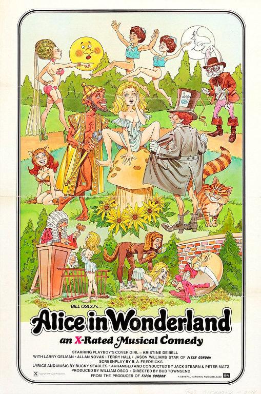 """""""Алиса в стране чудес"""" Бад Таунсенд, 1976."""