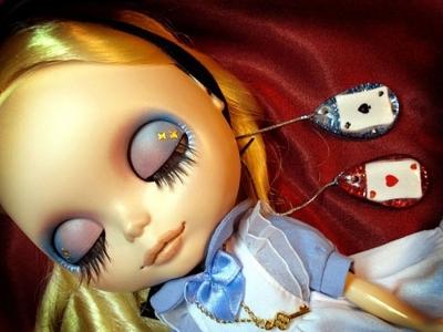 Алиса в стиле Blythe