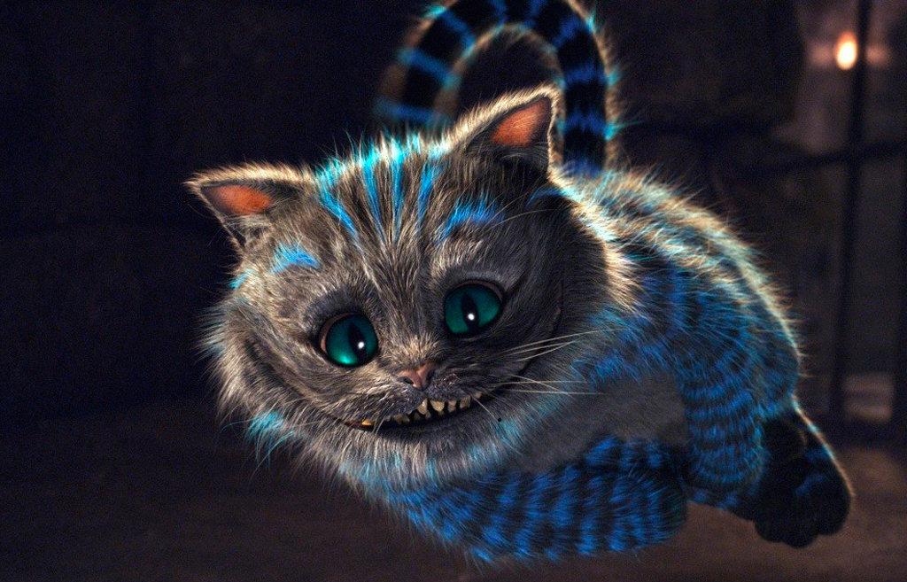 Чеширский кот Тима Бёртона