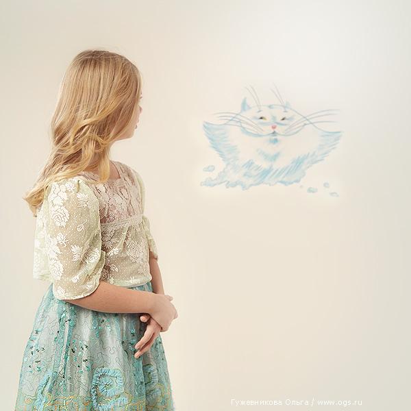 Фотограф Ольга Гужевникова: Алиса в стране чудес