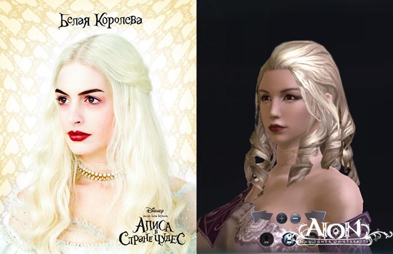 «Алису в стране чудес» будут рекламировать через MMORPG Aion