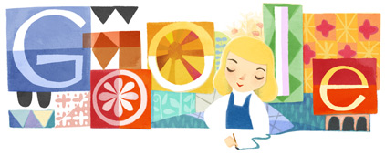 Google празднует 100-летие мультипликатора Мэри Блэр