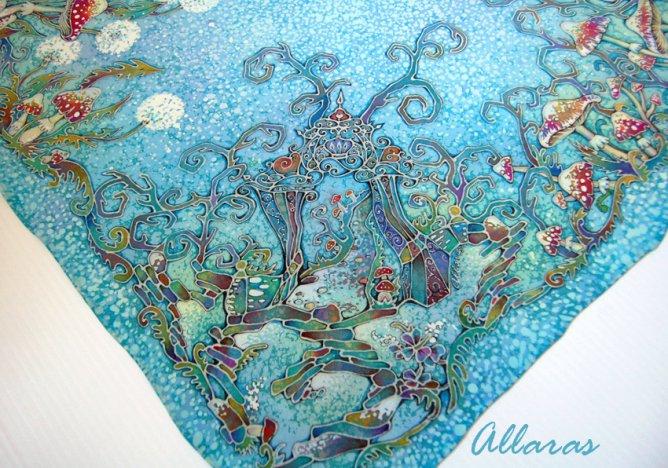 Страна чудес в батике от Аллы Рассоловой