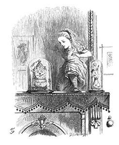 Краткое содержание: Сквозь зеркало и что там увидела Алиса, или Алиса в Зазеркалье