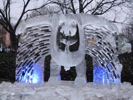 Фестиваль снежной и ледовой скульптуры «Алиса в стране Чудес» (Снежная сказка)