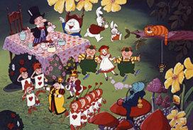 "Кадр из мультфильма ""Алиса в стране чудес"" (1983). Сугияма Таку, Nippon Animation"