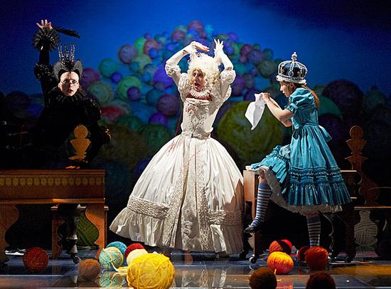 Алиса в Зазеркалье на сцене театр Мастерская Петра Фоменко