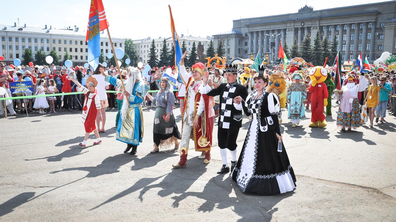 В Кирове в третий раз прошли Сказочные игры на Вятке