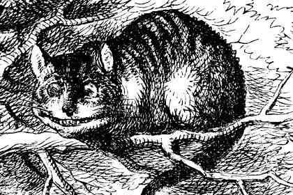 Чеширский Кот (иллюстрация Джона Тенниела)