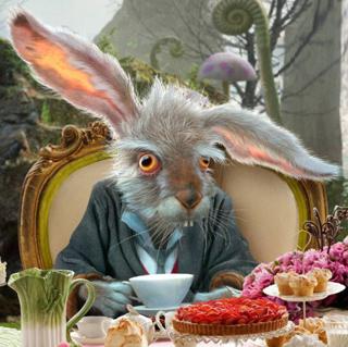 Семь самых известных мультяшных зайцев: Сумасшедший Мартовский заяц