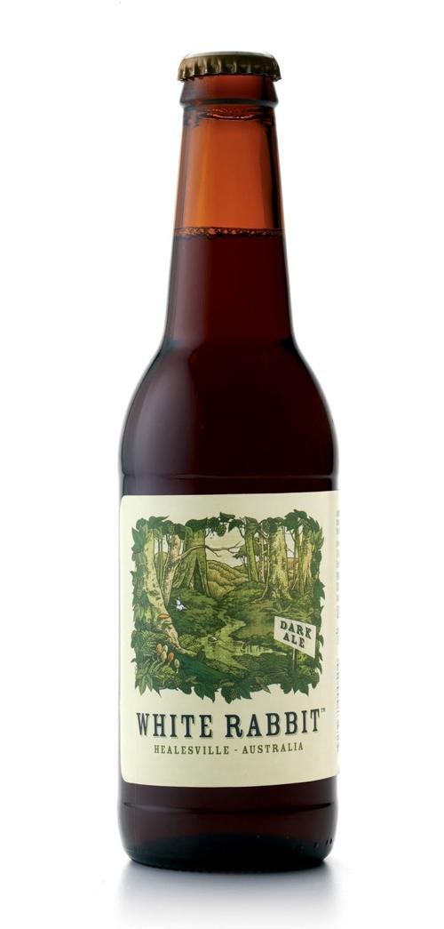 """Пиво White Rabbit по мотивам """"Алисы в стране чудес"""""""