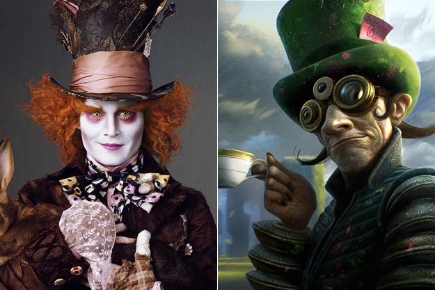 Безумный Шляпник из «Алисы в Стране чудес»
