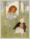 Margaret Tarrant - Alice white rabbit 1916