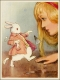 Margaret Tarrant - Alice white rabbit