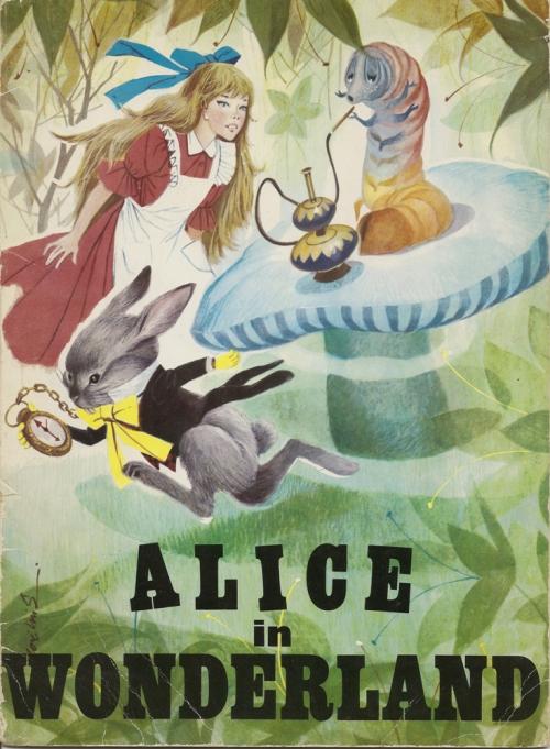Alice in Wonderland. Иллюстратор: Jose Luis Macias