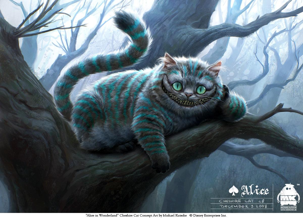 Концепт-арт Alice in Wonderland от Michael Kutsche