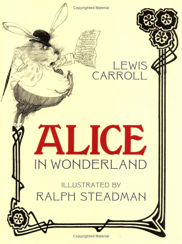 Ralph Steadman. Alice in Wonderland