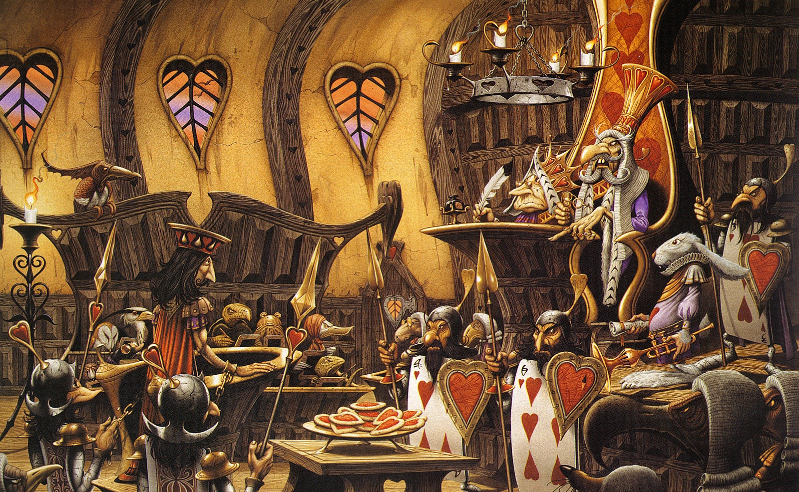 Rodney Matthews. Alice in Wonderland