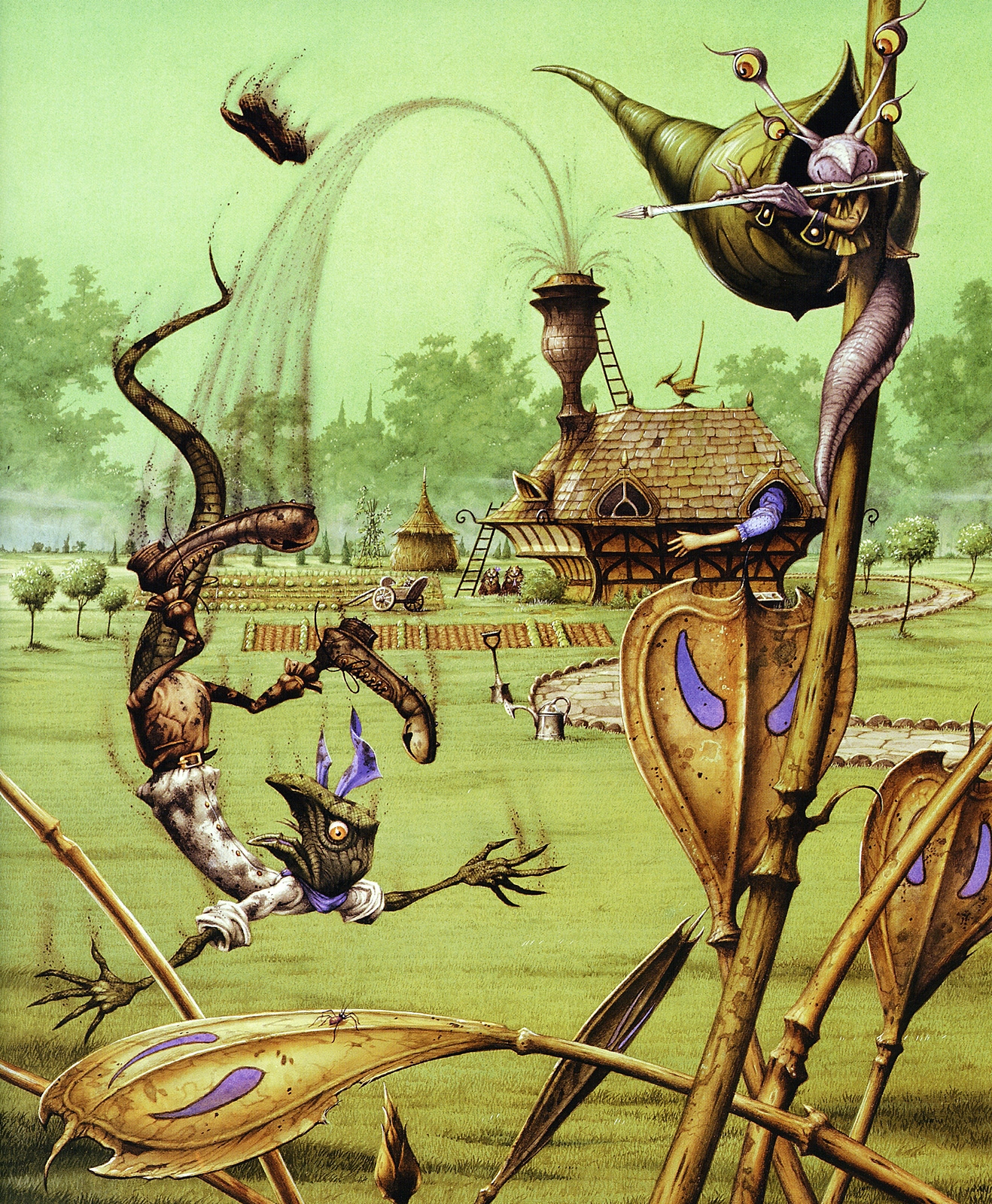Rodney Matthews. Alice in Wonderland