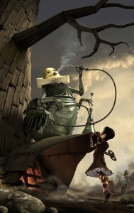 Alice's adventures in Steamland. Guillaume Dubois