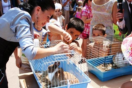 Одесский зоопарк на один день превратился в увлекательную Страну чудес
