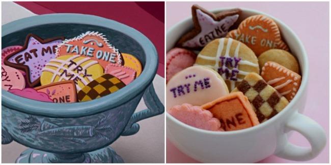 Волшебное печенье как в «Алисе в Стране чудес»