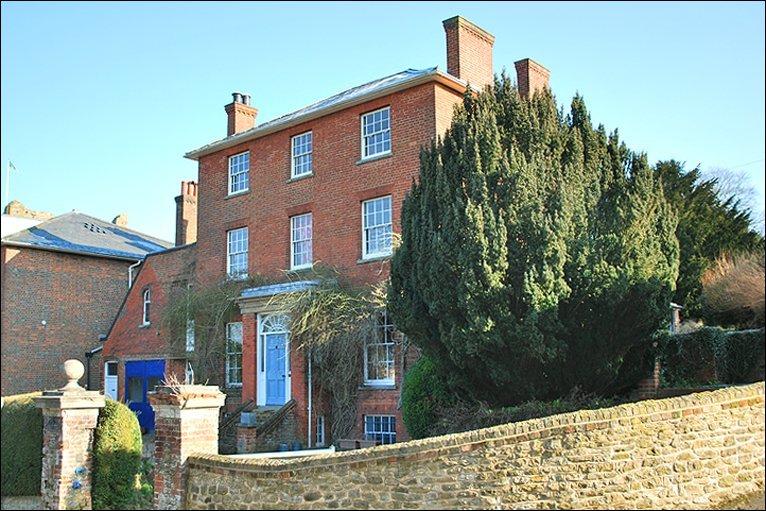 Дом Льюиса Кэрролла в Гилфорде, Суррей.